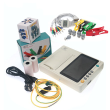 Cheap Price Portable Electrocardiograph ECG Machine with all accessories