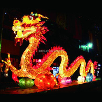 Hot Sale Giant Decorative Lighted Dragon Lantern Chinese New Year ...
