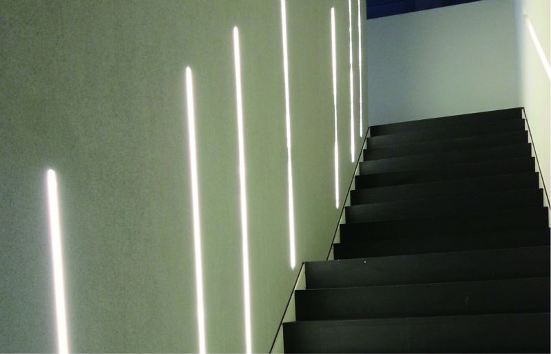 Angle 45 Degree Led Strip Aluminum Profile Led Strip