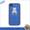 lovely bear mobile phone case pc case for iphone 5