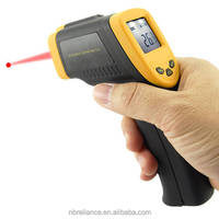 Digital Temperature Temp Gun Sensor Measuring Heat Up to 1022F degree Laser Infrared IR Surface Industry Thermometer
