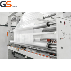 plastic wrapping stretch film roll extruder industry machine