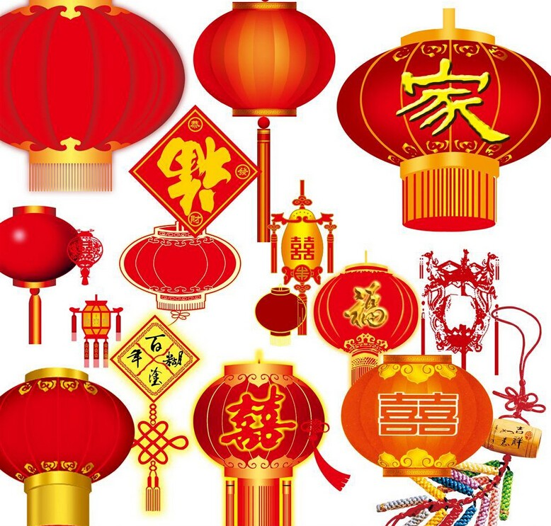 Pvc Plastic Chinese Lantern For Hanging