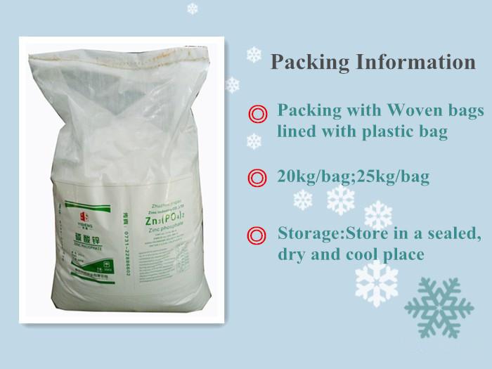 Raw Material For Making Paint Zinc Phosphate Zinc Ortherphosphate
