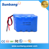 high capacity 18650 li-ion rechargeable battery 11.1V 9600mah for emergency radio