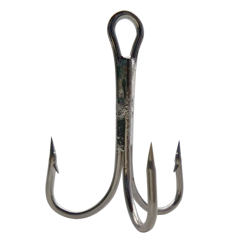 best selling weighted treble hooks high carbon steel triple hooks