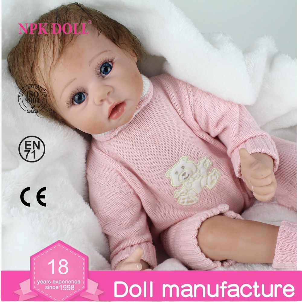 22 Inch 50cm Reborn Baby Doll Fake Baby Real Like Newborn ...