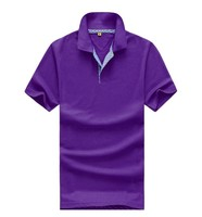 Custom Clothing Manufactures Wholesale Polo Golf Shirts Two Button Plain Color Golf Polo Shirt For Men