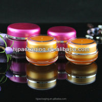Small 15g 30g 50g cream jar free samples plastic cosmetic container skincare