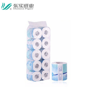 31 Meters 3Ply Top Quality Soft Toilet Paper,Printed Hygienic Biodegradable Bathroom Paper Roll