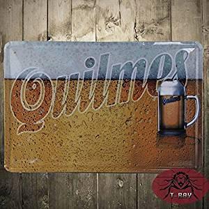 Yours Dec Metal Tin Sign Quilmes Beer Sign Argentina Metal Tin Sign Art wall decor