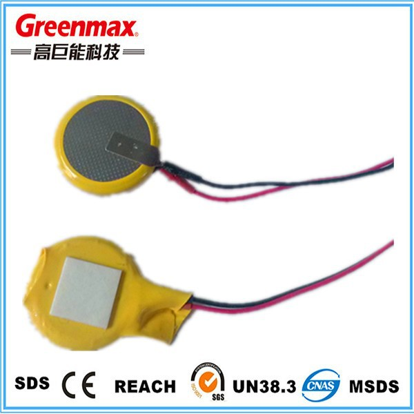 3V 220mAh Button Cell 2032 Battery with Solder Tabs