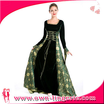 0da5a1c3c91 Halloween Party Medieval Renaissance Ladies Costume Sexy Carnival Costume  Adult Fancy Dress Costume