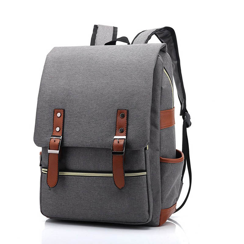 Unique Products 2018 Oxford Fabric Vintage Backpack For School Leisure Hiking Camping Travel Sports