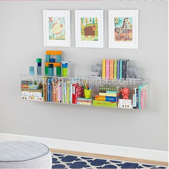 All Purpose Custom Acrylic Hanging Wall Shelf Buy
