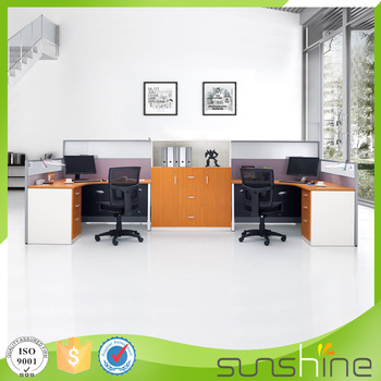 HT PW35 Modern American Style Office Furniture Modular Open Design Office  Cubicle Partition Workstation