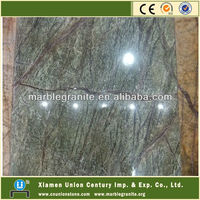 Rainforest Green Marble Tiles