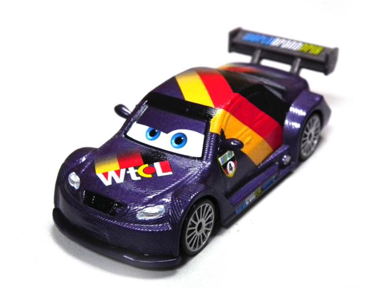 100 original pixar cars 2 max schnell germany racer 1 55