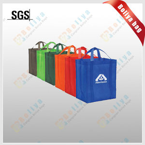 promotion lamination nonwoven carrier tote bag/pure color nonwoven tote bag/pp nonwoven packing tote bag