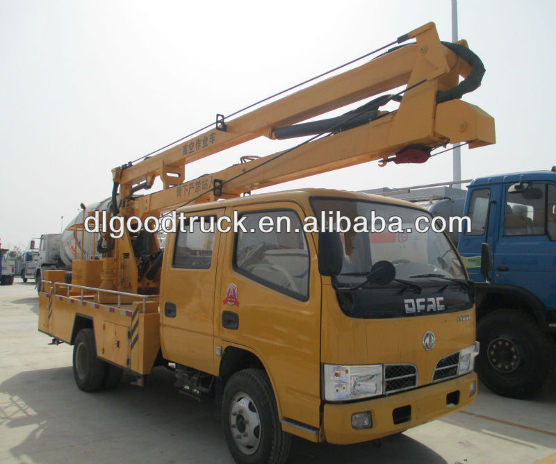 10-16M Dongfeng aerial working platform truck