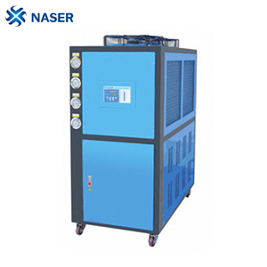 plastic industrial processes cooling water chiller