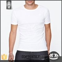 Next Level Apparel Men's Premium Fitted Crew Neck T-Shirt - made from 100% combed cotton jersey and comes with your logo.