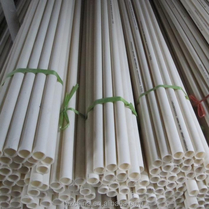 Manufacturer preferential supply High quality pvc threading pipe/pvc rigid tube (HOT)