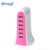 KC charger hot selling 40W 8A desktop charger mobile accessories 6X USB table travel charger