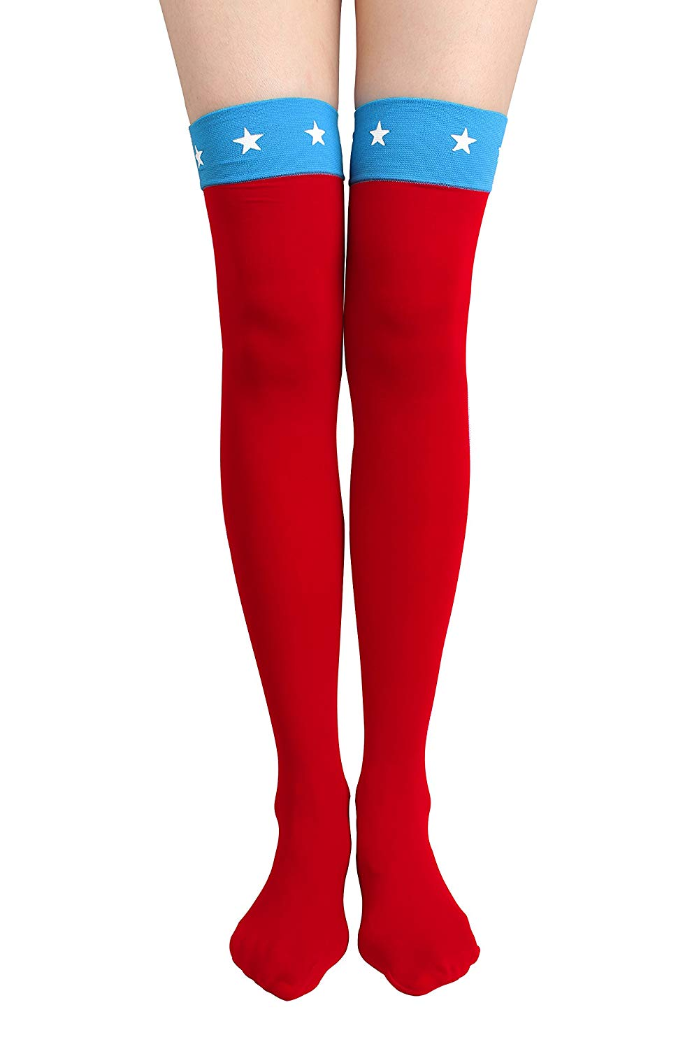 9a4d0c13db8d9 Get Quotations · Thigh High Long sock Over Knee High Socks Solid Stockings  Costume for Halloween