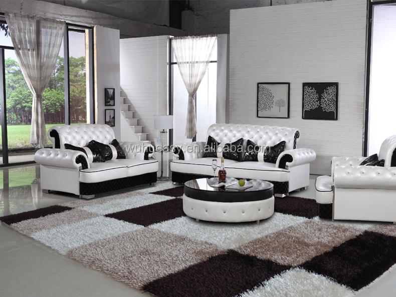 Divani Bianchi E Neri : Divano nero perfect divano nero with divano nero divano in pelle