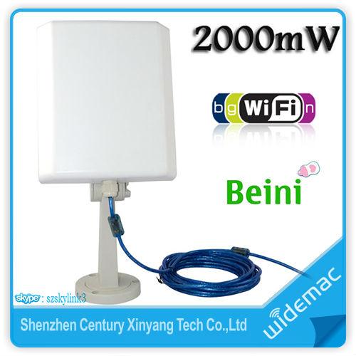 2000mw Outdoor Long Range Usb Wifi Antenna Receiver 36dbi Antenna - Buy  Wifi Antenna Receiver,Wifi Antenna Receiver,Wifi Antenna Receiver Product  on