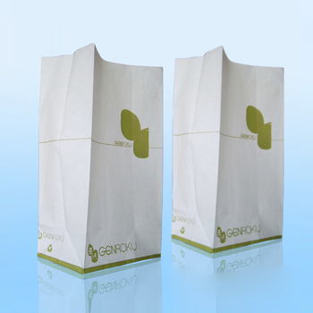 Logo Printed Puke Bags Kraft Paper Air Sickness Bag