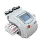 Portable 6 In 1 Best Skin Tightening Face Lifting Cavitation RF Vacuum Body slimming system liposuction Machine