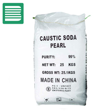 sodium hydroxide manufacturers caustic soda pearls 96--99%  caustic soda flake 25kg bag