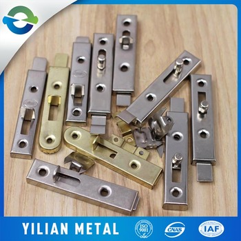 Supply Low Price Cabinet Door Latch China Sliding Bolt Lock Metal Cabinet  Sliding Door Lock