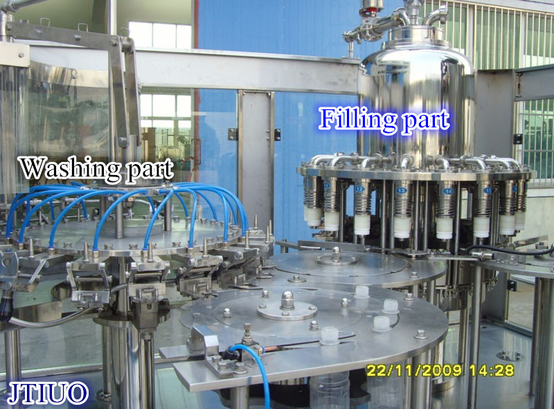 bottle juice filling machine