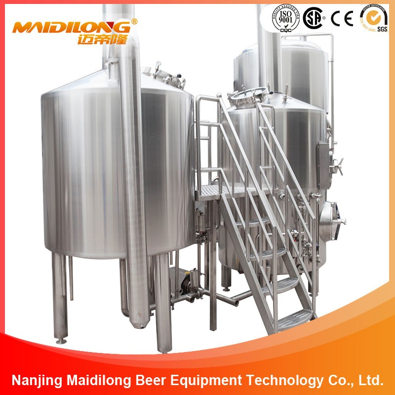 500L Commercial beer brewery equipment , beer brewing system making craft beer for sale