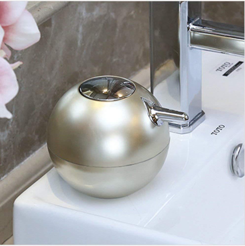 GUOSHIJITUAN Restroom Plastic Press Soap Dispenser,Household Kitchen Bathroom Hotels Foam Pump Shampoo Hand soap Bath Soap Dispenser Curtain Accessories-B