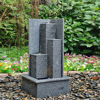 Outdoor Stone Artificial Waterfall For Gardens