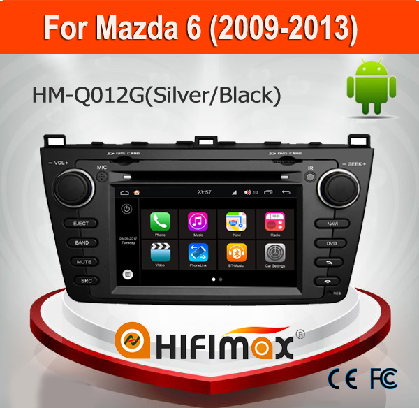 Hifimax For Mazda 6 2009-2013 DVD GPS Bose System Android 7.1 DVD Player With GPS Navigation System