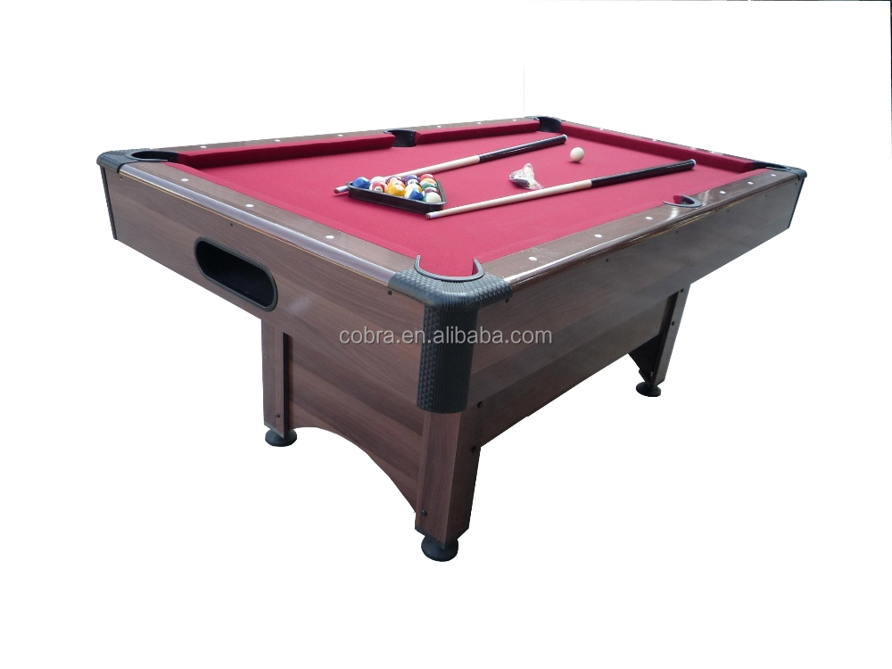 new design and low price billiard pool table
