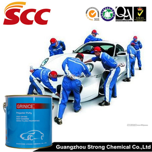 Car paint usage auto refinish filling putty