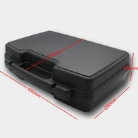 factory price industrial plastic carry case with customized foam
