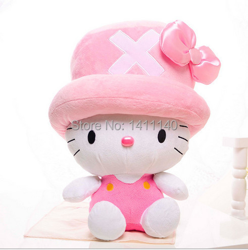 Buy Elegant Pink Hello Kitty Wear Hat Cake Topper Decoration Wedding Party Birthday Gifts Favors Free Shipping In Cheap Price On