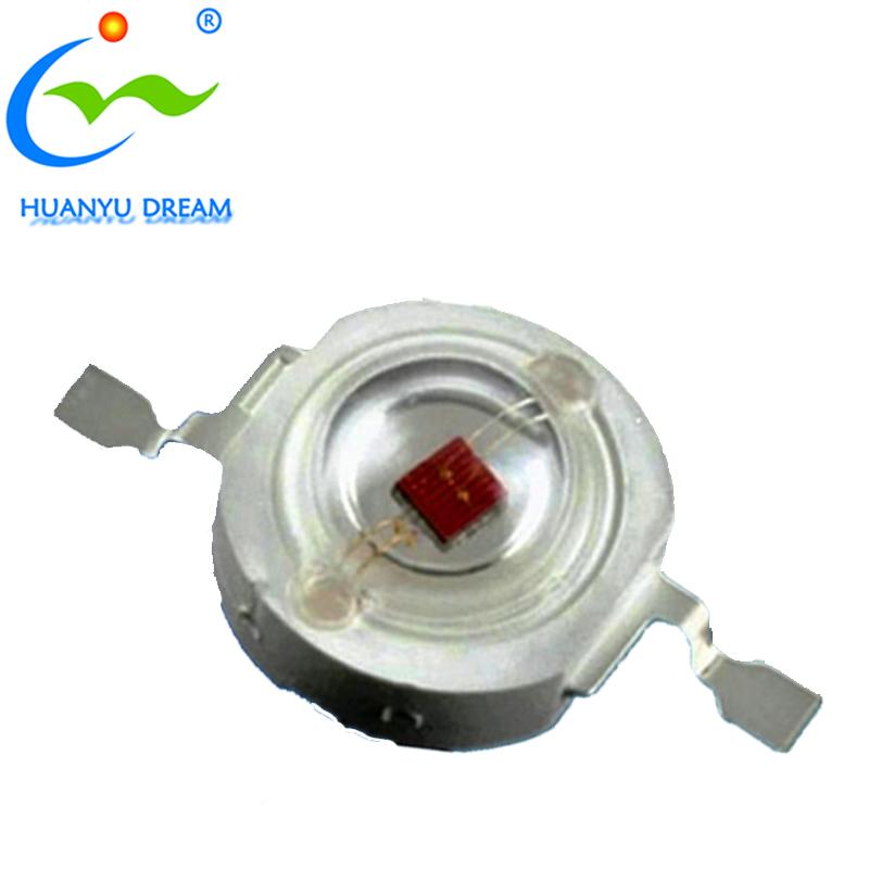 Huanyu high power 1w 3w led IR 740nm 850nm IR LED CHIP