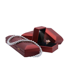 Creative Proposal Ring Box Rubber Lacquer Jewelry Packaging Gift Box With LED Light
