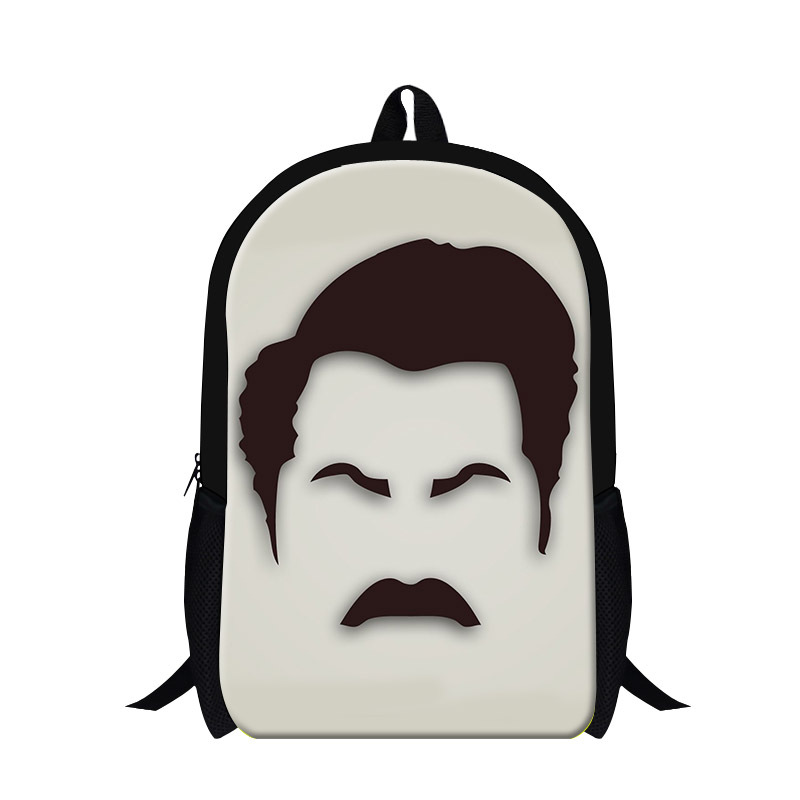 Get Quotations · 2015 3D cool man printing school backpack 6f0e335dd816c