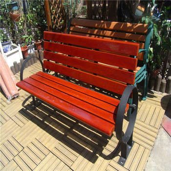 Sensational Durable Garden Wooden Bench With Circle Armrest Buy Garden Benches Cheap Wood Bench With Back Slate Garden Benches Product On Alibaba Com Cjindustries Chair Design For Home Cjindustriesco
