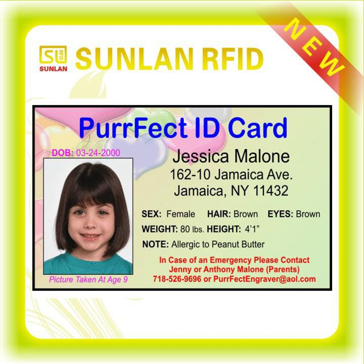 Free Sample Company Staff Employee Id Cards With Serial Numbers – Sample Cards