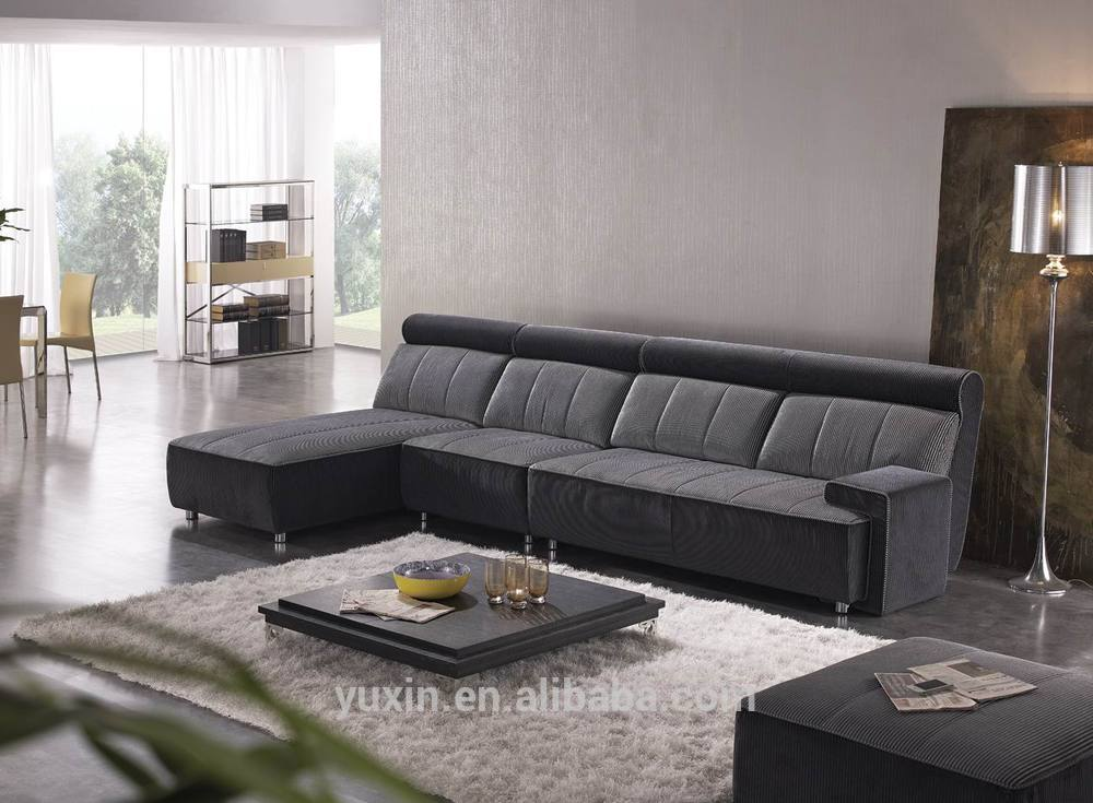 New arrival modern living room wooden furniture corner sofa set design for livingroom buy for Sofa designs for small living room